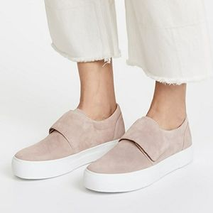 Vince Blush Pink Putty Cage Platform Sneakers